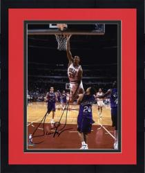 "Framed NBA Chicago Bulls Scottie Pippen Autographed 8"" x 10"" Photo"