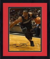 "Framed Dwyane Wade Miami Heat Autographed 8"" x 10"" Driving Baseline Photograph"