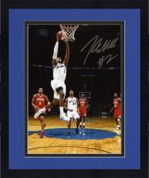"Framed NBA Washington Wizards John Wall Autographed 8"" x 10"" Photo vs. Philadelphia 76ers"