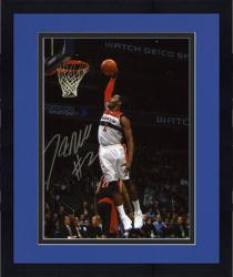 "Framed NBA Washington Wizards John Wall Autographed 8"" x 10"" Photo vs. Toronto Raptors"