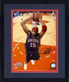 Framed New Jersey Nets Vince Carter Autographed Photo