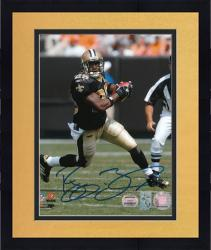 Framed New Orleans Saints Reggie Bush Autographed 8'' x 10'' Photograph