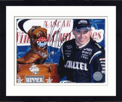 Framed NEWMAN, RYAN AUTO (ALLTELL/WITH BOOTS) 8X10 PHOTO - Mounted Memories