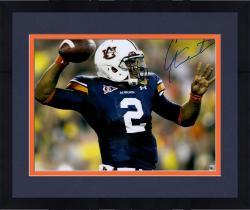 Framed Cam Newton Autographed Auburn 16x20 Photo