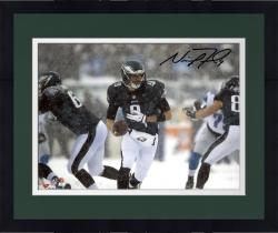 "Framed Nick Foles Philadelphia Eagles Autographed 8"" x 10"" Horizontal Snow Photograph"