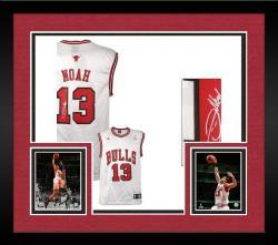 Framed Noah, Joakim Auto (bulls)(white/adidas/replica)jersey