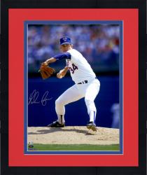 Framed Nolan Ryan Autographed Rangers 16x20 Photo