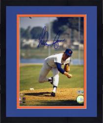 "Framed Nolan Ryan New York Mets Autographed 8"" x 10"" MLB Photograph"
