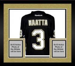 Framed Olli Maatta Pittsburgh Penguins Autographed Black Reebok Premier Jersey