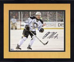 "Framed Olli Maatta Pittsburgh Penguins Autographed Stadium Series 8"" x 10"" Photograph"