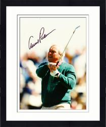 Framed Fanatics Authentic Autographed Arnold Palmer 8'' x 10'' Green Sweater Swinging Photograph