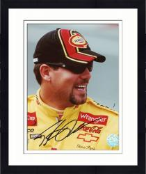 Framed PARK, STEVE AUTO (PENNZOIL/SMILING) 8X10 PHOTO - Mounted Memories
