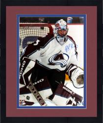 "Framed Patrick Roy Colorado Avalanche Autographed 16"" x 20"" Photo"