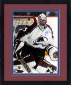 Framed Patrick Roy Colorado Avalanche Autographed 16'' x 20'' Photo