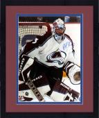"Framed Patrick Roy Colorado Avalanche Autographed 16"" x 20"" Photo"