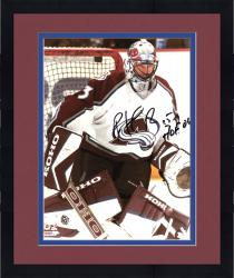 "Framed Colorado Avalanche Patrick Roy Autographed 8"" x 10"" Photo"