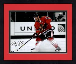 Framed Patrick Sharp Chicago Blackhawks Autographed 11'' x 14'' Spotlight Photograph - #2-9, 11-25 within a Limited Edition of 25