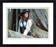 "Framed Penelope Cruz Autographed 8"" x 10"" Pirates of the Caribbean: in Woods Photograph - Beckett COA"