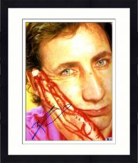 "Framed Pete Townshend Autographed 11"" x 14"" Bloody Finger Photograph - Beckett COA"