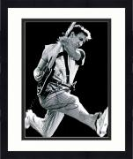 "Framed Pete Townshend Autographed 11"" x 14"" The Who Playing Jumping Photograph 1  - BAS COA"