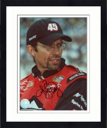 Framed Kyle Petty Autographed 8'' x 10'' Sprint PCS Head Shot Photograph