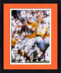"Framed Peyton Manning University of Tennessee Autographed 16"" x 20"" Photo"