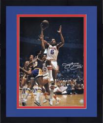 "Framed Philadelphia 76ers Julius Erving Autographed 16"" x 20"" Photo"