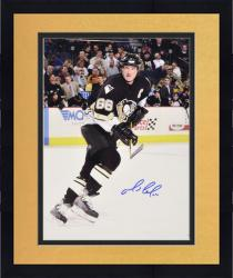 Framed Pittsburgh Penguins Mario Lemieux Autographed 16'' x 20'' Photo ----