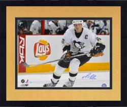 Framed Pittsburgh Penguins Mario Lemieux Autographed 16'' x 20'' Photo -