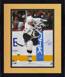 Framed Pittsburgh Penguins Mario Lemieux Autographed 16'' x 20'' Photo --