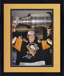 Framed Pittsburgh Penguins Mario Lemieux Autographed 16'' x 20'' Photo