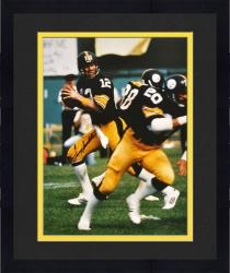 Framed Pittsburgh Steelers Terry Bradshaw Autographed 16'' x 20''