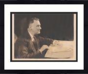 """Framed President Franklin Roosevelt Autographed 8"""" x 10"""" Photograph - PSA"""