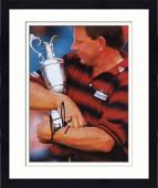 Framed Nick Price Autographed 8'' x 10'' Hugging Trophy Photograph