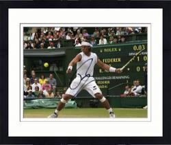 "Framed Rafael Nadal Autographed 8"" x 10"" Rolex in View Photograph"