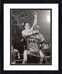 Framed Ray Mancini Autographed 8'' x 10'' Hand Raised Photograph