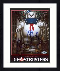 "Framed Ray Parker Jr. Autographed 8"" x 10"" Ghostbusters Movie Cover Photograph - Beckett COA"