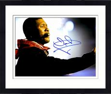 Framed Usher Raymond Autographed 11'' x 14'' Red Jacket Photograph