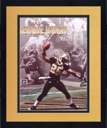 Framed Reggie Bush New Orleans Saints 4 TD's Collage Autographed 16x20 Photograph - Mounted Memories