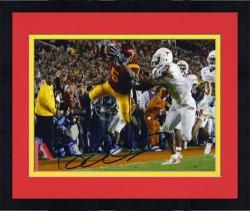 """Framed Reggie Bush USC Trojans Autographed 8"""" x 10"""" Photograph"""