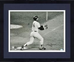 Framed Reggie Jackson New York Yankees 1977 World Series Game 6 HR Autographed 16'' x 20'' Photograph