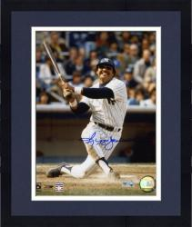 Framed Reggie Jackson New York Yankees Autographed 8'' x 10'' Watching Hit Photograph