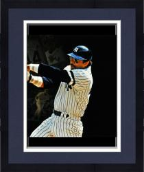 Framed Reggie Jackson Signed 10x30 Film Strip Photo