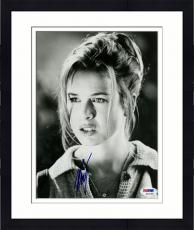 Framed Renee Zellweger Signed Photo - 8x10 PSA/DNA
