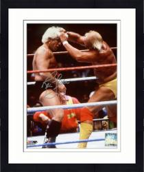 "Framed Ric Flair Autographed 8"" x 10"" Hair Grab Photograph"