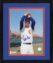 "Framed Rich Nye Chicago Cubs Autographed 8"" x 10"" Glove Pose Photograph"