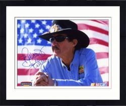 "Framed Richard Petty Autographed 8"" x 10"" Photo"