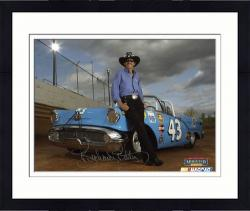 Framed Richard Petty Autographed 8'' x 10'' Photograph