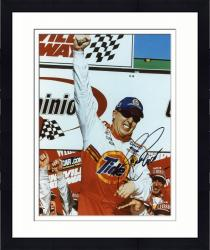 Framed Ricky Craven Autographed 8'' x 10'' Tide One Hand Up Photograph