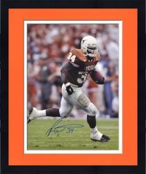 """Framed Ricky Williams Texas Longhorns Autographed 16"""" x 20"""" Photograph"""